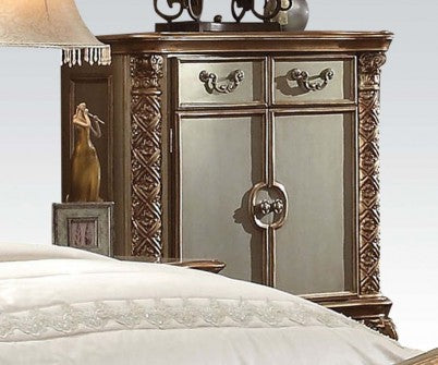 Acme Vendome Chest in Gold Patina 23006 image