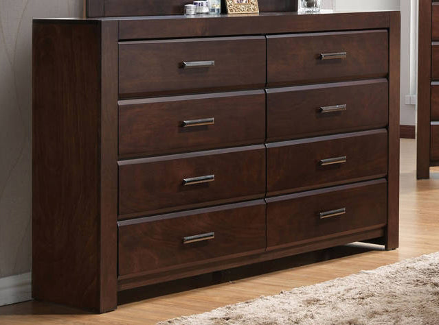 Acme Oberreit 8 Drawer Dresser in Walnut 25795 image