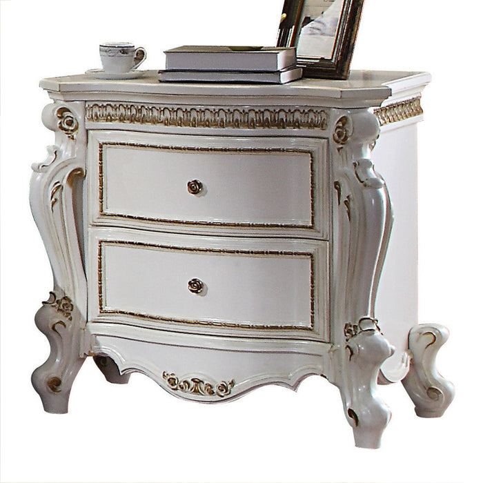 Picardy Antique Pearl Nightstand