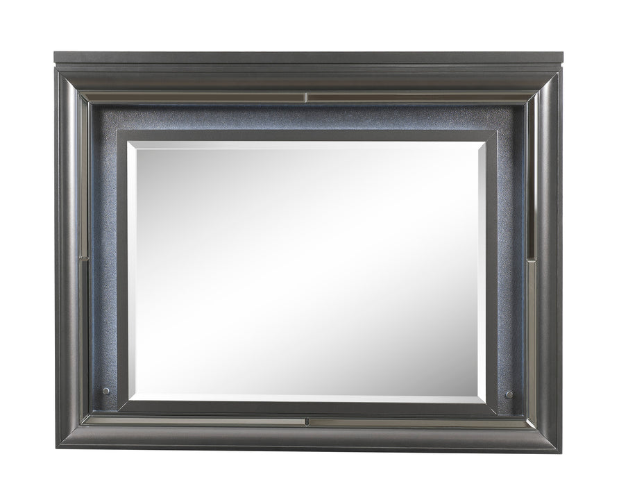 Sawyer Metallic Gray Mirror (LED)