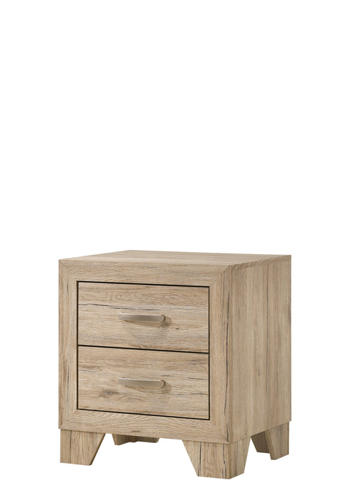 Miquell Natural Nightstand