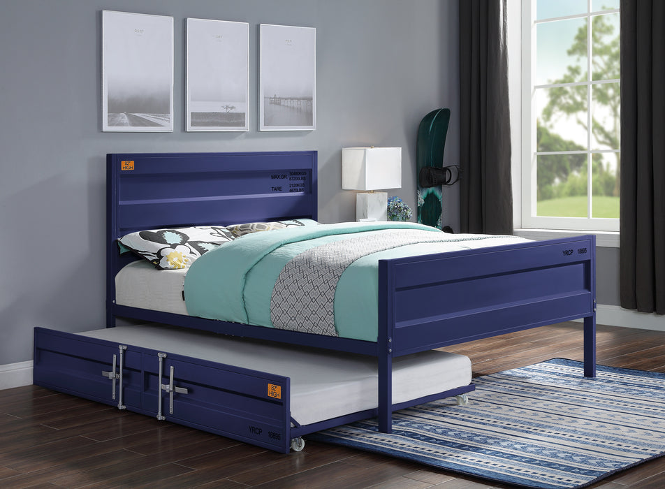 Cargo Blue Full Bed image