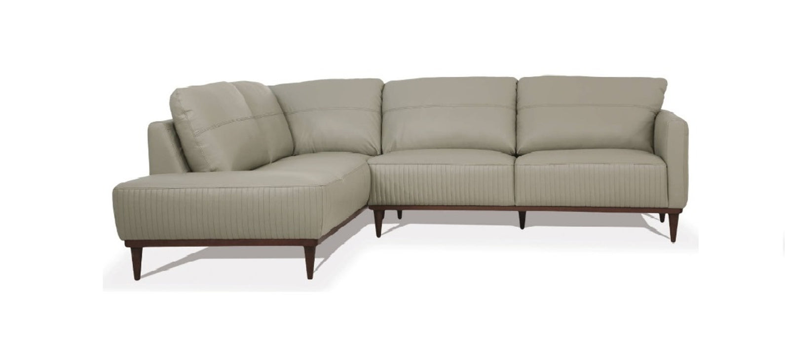 Acme Tampa Sectional Sofa in Airy Green 54995 image