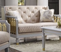 Acme Furniture House Marchese Loveseat in White 58866 image
