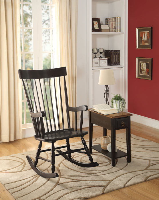 Arlo Black Rocking Chair image