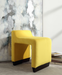Alford Yellow Flannel Ottoman image