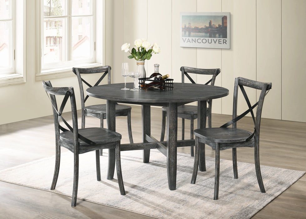 Kendric Rustic Gray Dining Table image