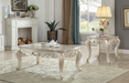 Gorsedd Marble & Antique White Coffee Table image