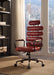 Calan Antique Red Top Grain Leather Office Chair image