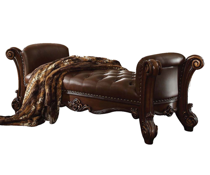 Acme Vendome Bench in Cherry 96490 image