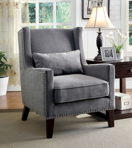 TOMAR Gray Accent Chair image