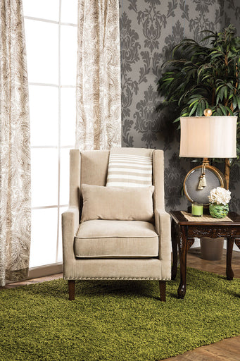 TOMAR Ivory Accent Chair image