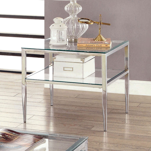 TANIKA Chrome End Table, Chrome image
