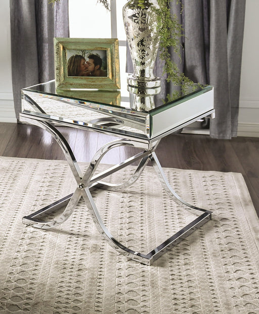 SUNDANCE Chrome End Table, Chrome image