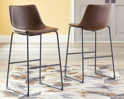 Centiar Signature Design by Ashley Barstool Set of 2