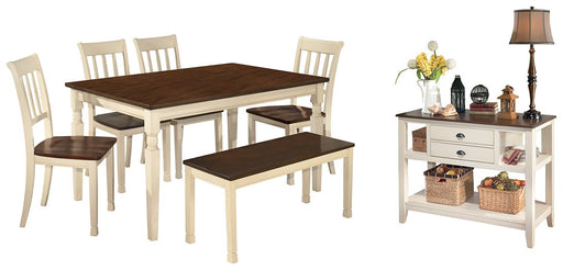 Whitesburg Signature Design 7-Piece Dining Room Package image