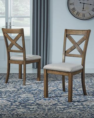 Moriville Signature Design by Ashley Dining Chair Set of 2
