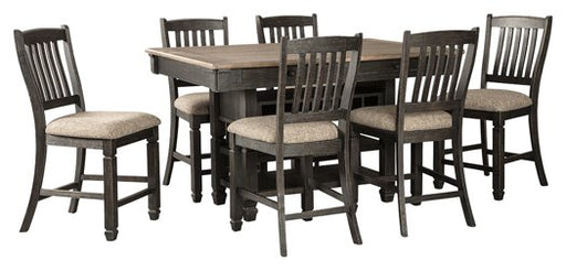 Tyler Creek Signature Design 7-Piece Counter Height Dining Room Package image