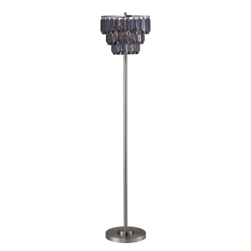 Meg Black/Chrome Floor Lamp image