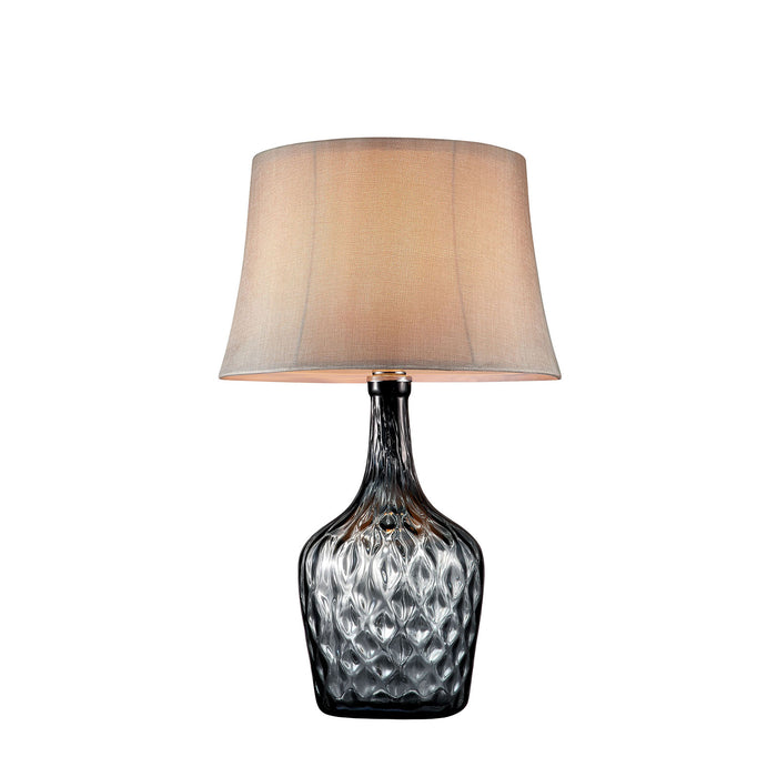 "Jana Gray 30""H Gray Glass Table Lamp image"
