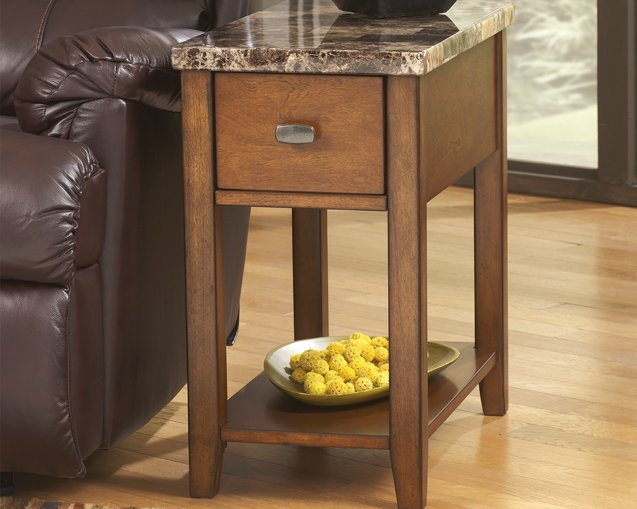 Breegin Signature Design by Ashley End Table Chair Side image
