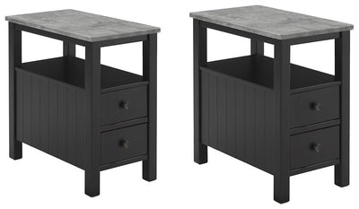 Ezmonei Signature Design 2-Piece End Table Set