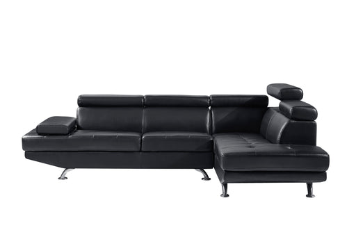 2Pc Sectional Black image