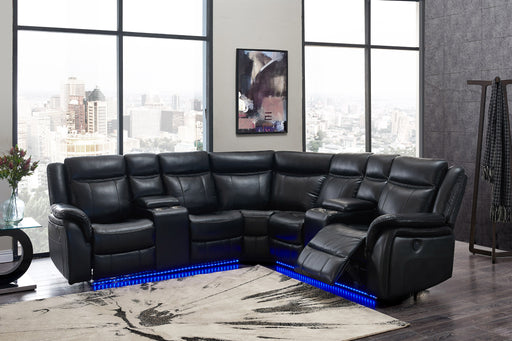 Sectional Blanche Black image