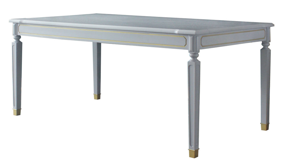 Acme Furniture House Marchese Dining Table in Pearl Gray 68860 image