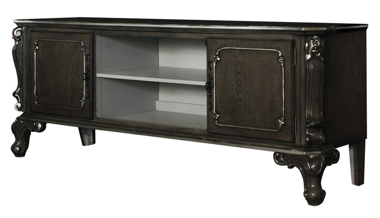 Acme Furniture House Delphine TV Stand in Charcoal 91988 image