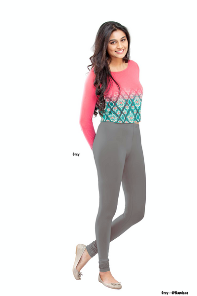 Women's Leggings (Grey) Full Length