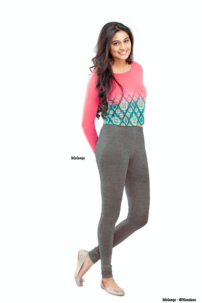 Women's Leggings (Melange) Full Length