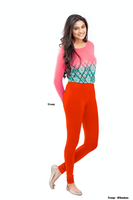 Women's Leggings (Orange) Full Length