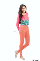Women's Leggings (Peach) Full Length