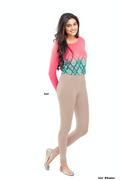 Women's Leggings (Sand) Full Length