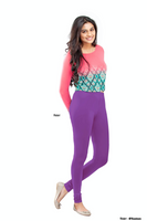 Women's Leggings (Violet) Full Length