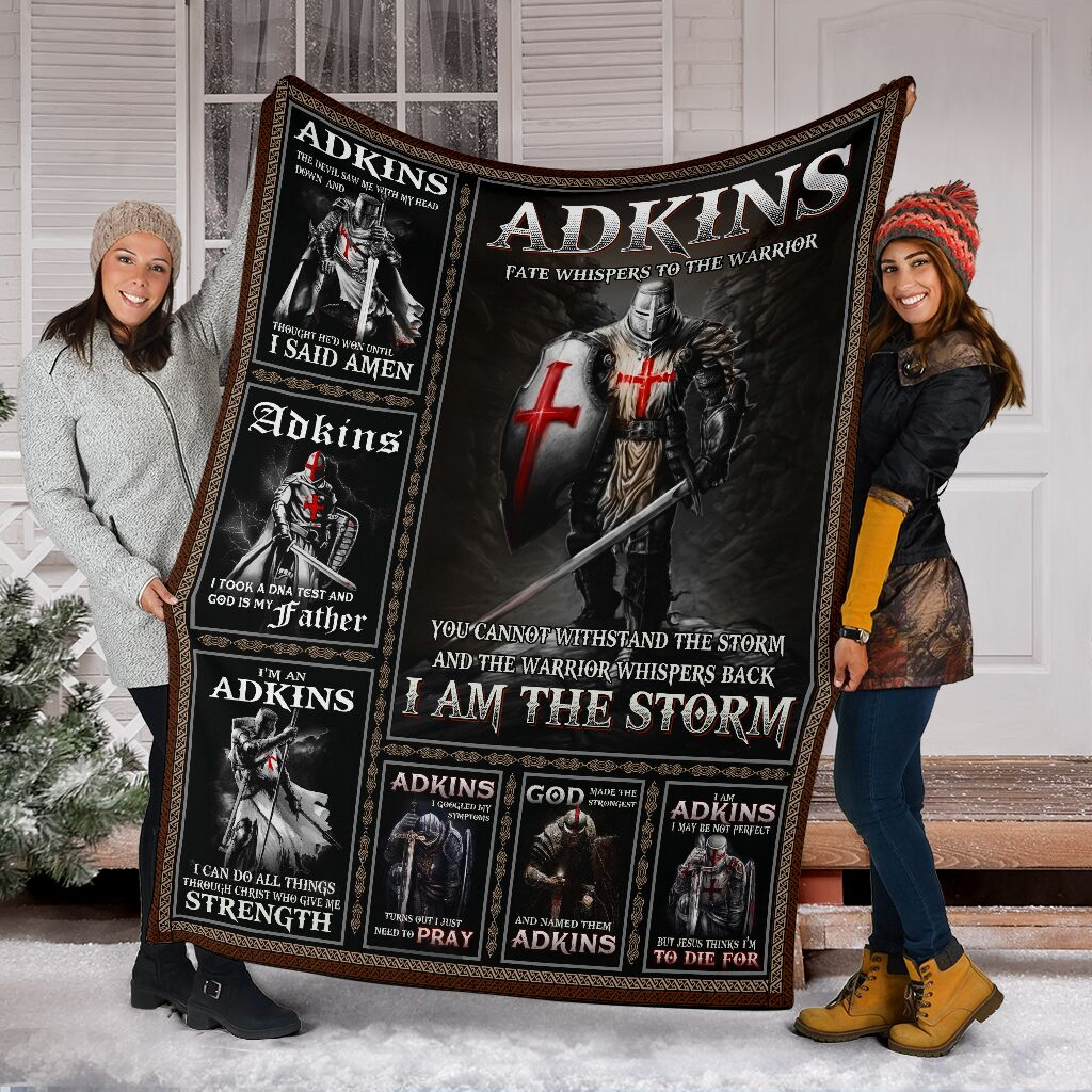 Adkins Fleece Blanket Small Medium Large X-large