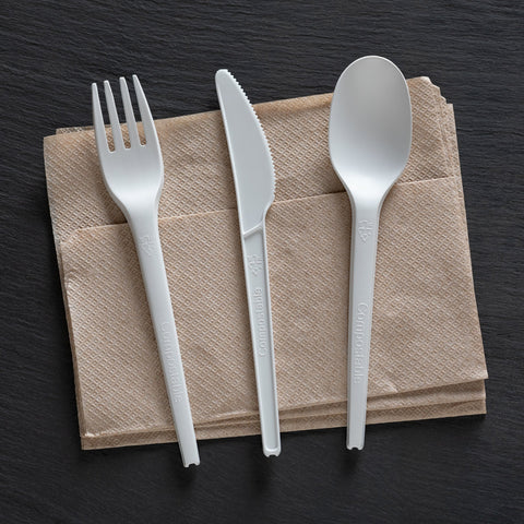 Compostable Heavy Weight Disposable Utensils
