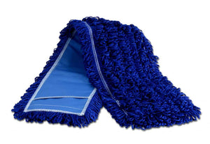 "36"" Blue Microfiber Dust Mop"