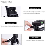 14'' to 40'' Extendable Tripod for Cellphone and Camera
