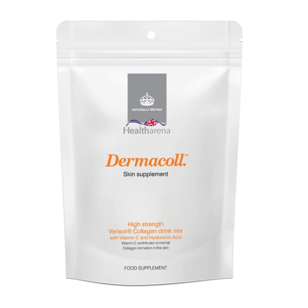 Dermacoll™ Collagen Drink Mix in New Eco-Friendly pack, approximately 30 servings, 1 month supply
