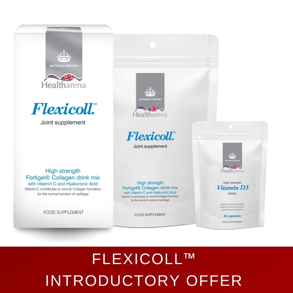 Flexicoll™ Introductory Offer with FREE Vitamin D3 5000iu