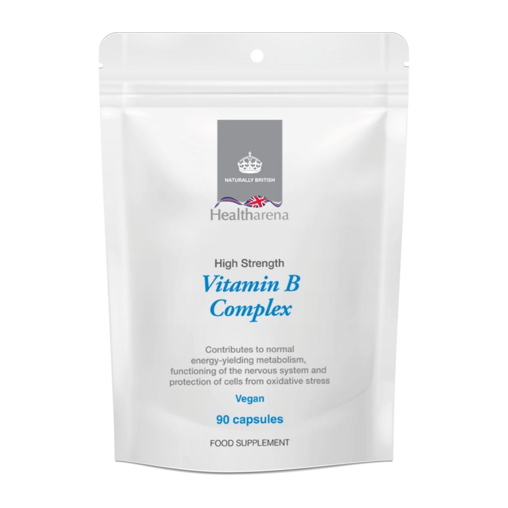 High Strength Vegan Vitamin B Complex (90 capsules)