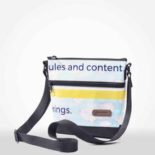 Load image into Gallery viewer, Water-resistant and secure cross body purse