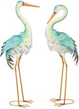 Load image into Gallery viewer, Lagoon Heron Decor 36""