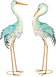 Lagoon Heron Decor 36""
