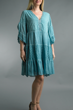 Load image into Gallery viewer, Tiered Cotton Dress