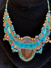 Load image into Gallery viewer, Chantal: Boulder Opal, Agate, Turquoise, Granet