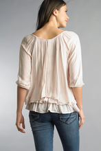 Load image into Gallery viewer, Silk Tiered Blouse