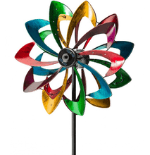 Load image into Gallery viewer, Wind Powered Light Up Spinner